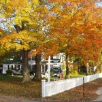 Waldo-Emerson Inn in the fall, Kennebunkport Maine