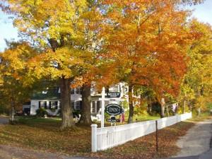 Waldo-Emerson Inn in the fall, Kennebunkport Maine