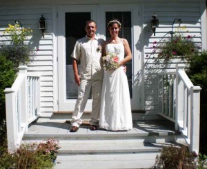 Wedding in Kennebunkport Maine