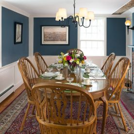 Our Kennebunkport B&B dining room