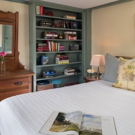 Ralph's Library Room at our Kennebunkport bed and breakfast