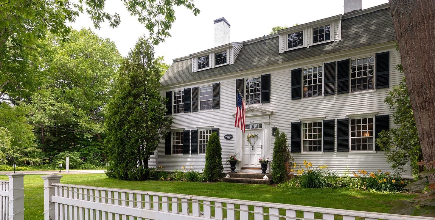 Our Kennebunkport B&B exterior