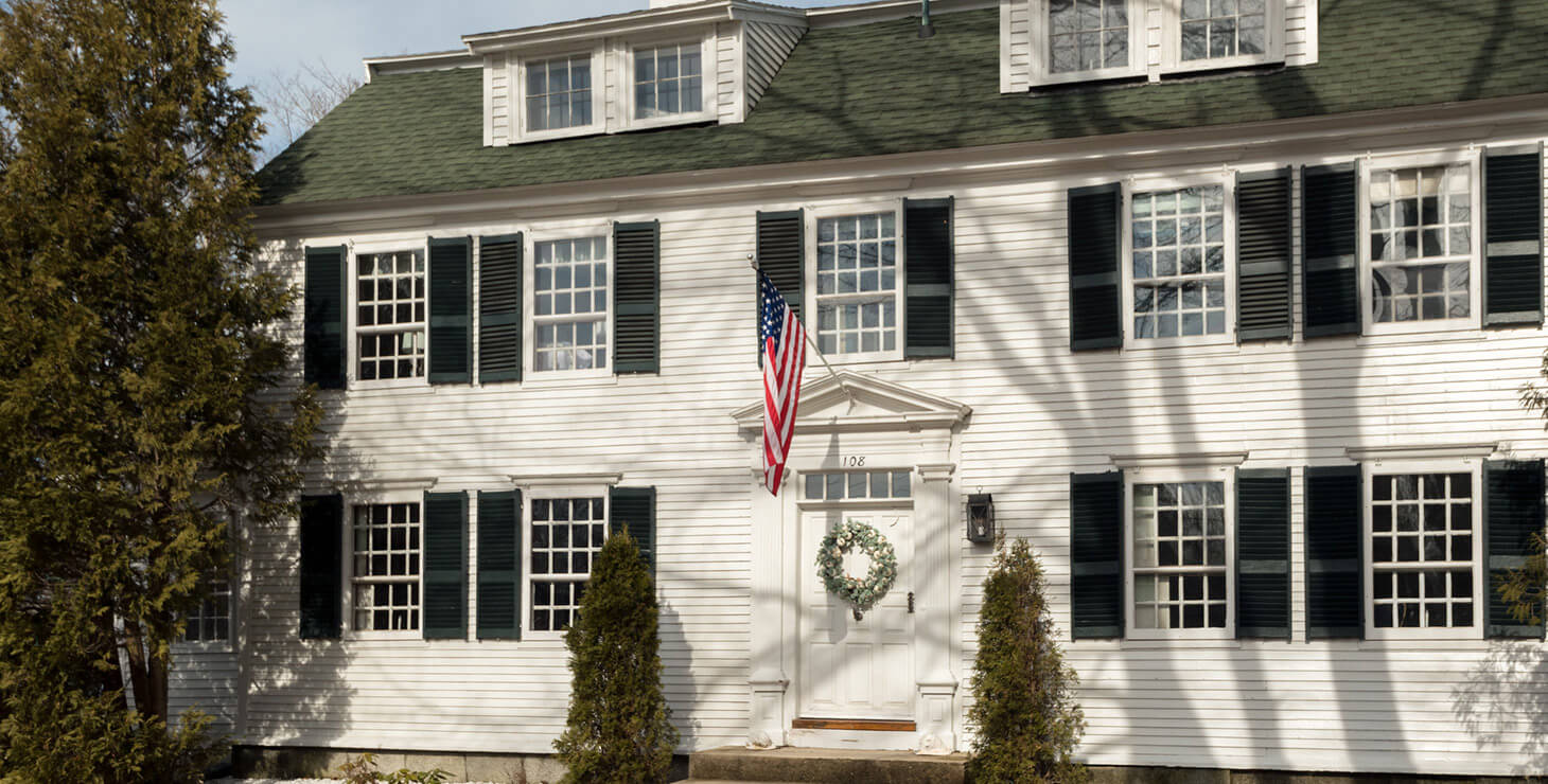 Our Kennebunkport, Maine B&B front entrance
