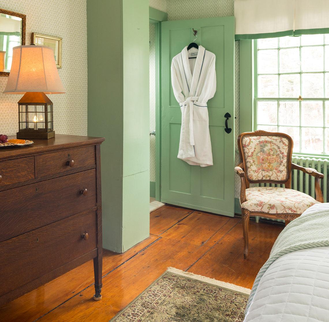 Bath Robe in Lyman Room