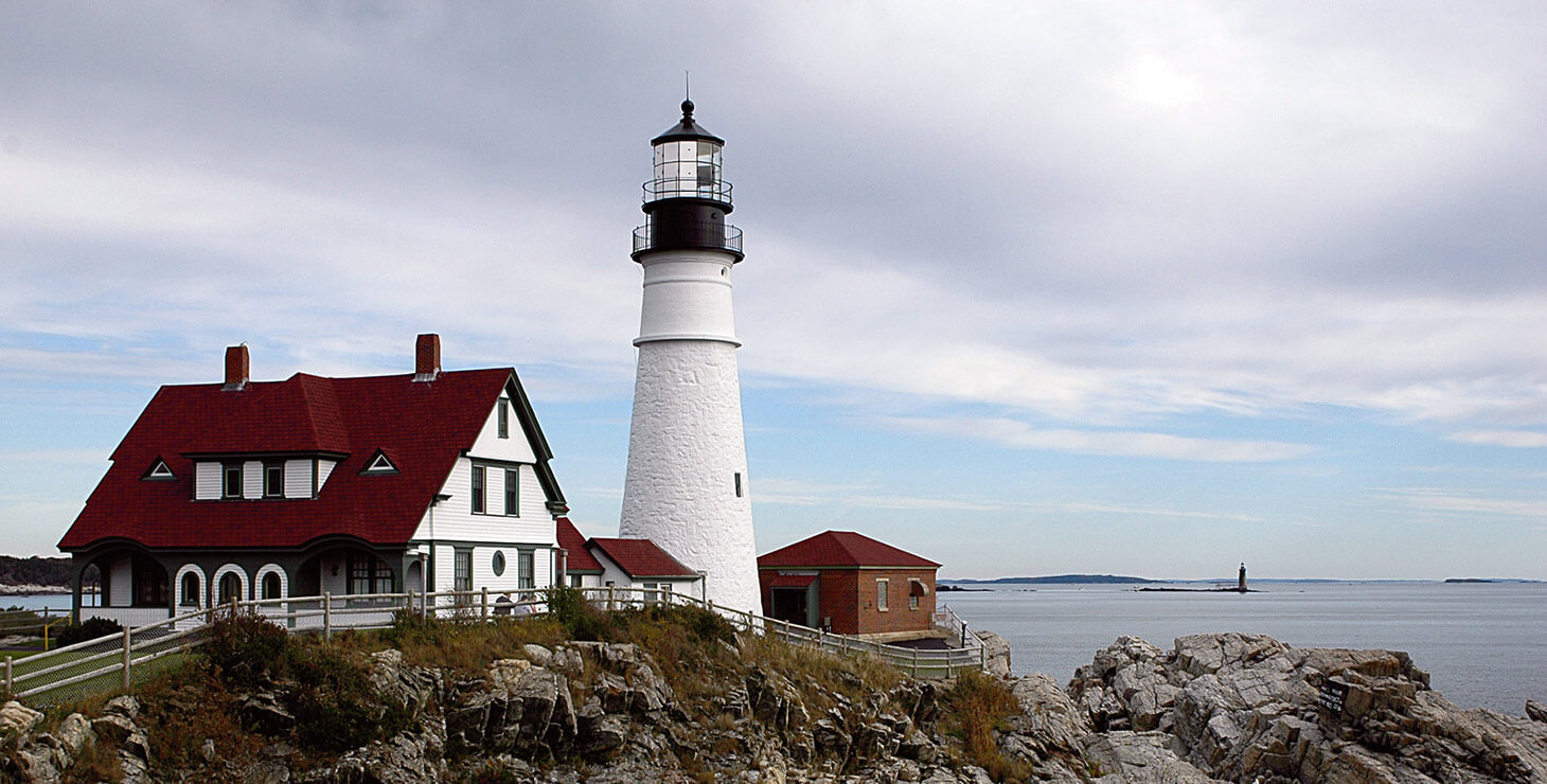Fun Kennebunkport Activities - Lighthouse by the ocean