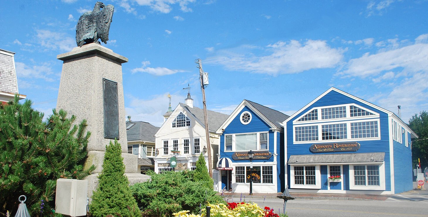 Kennebunkport's Dock Square