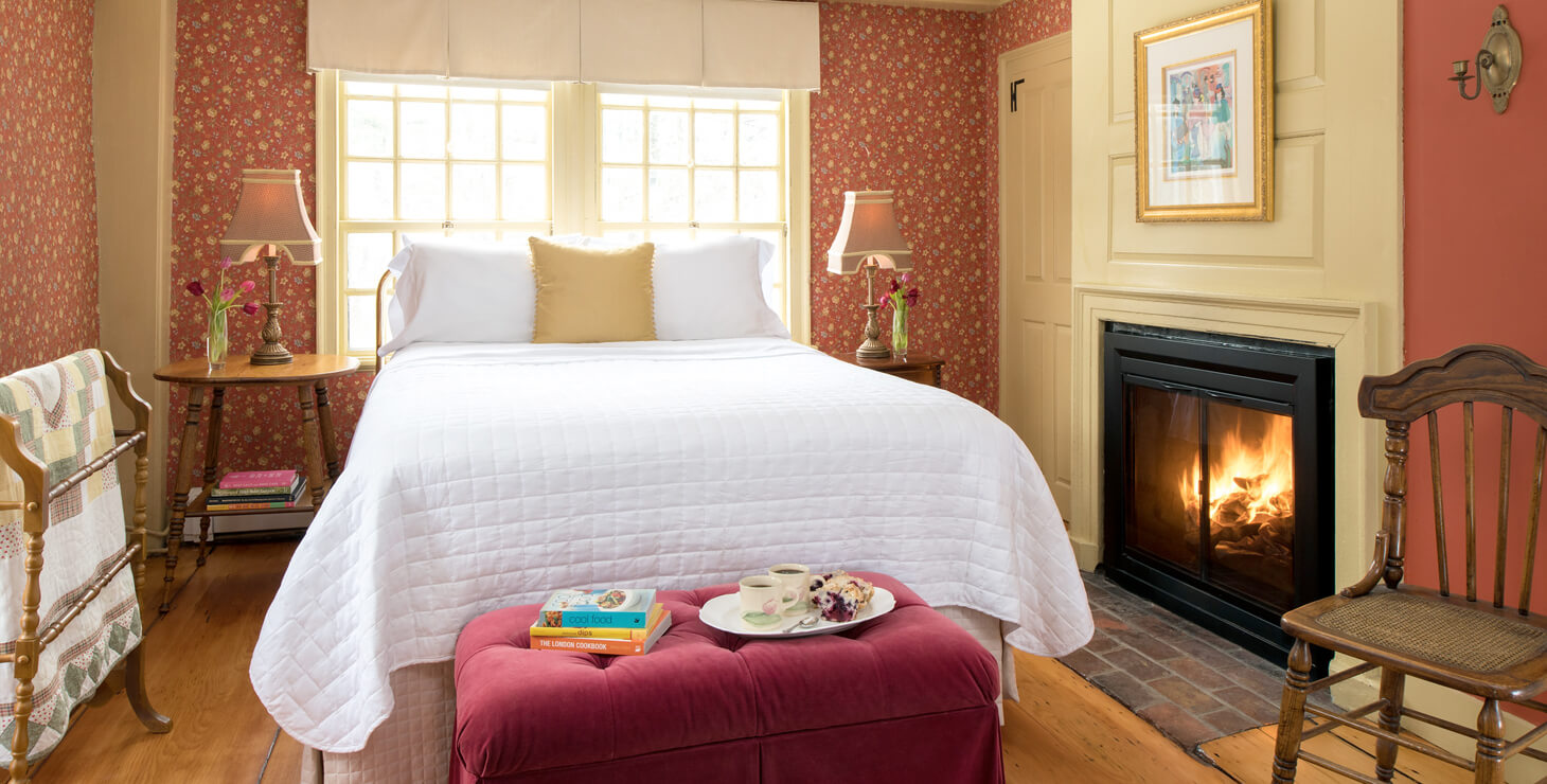 Cozy accommodations at Waldo Emerson Inn