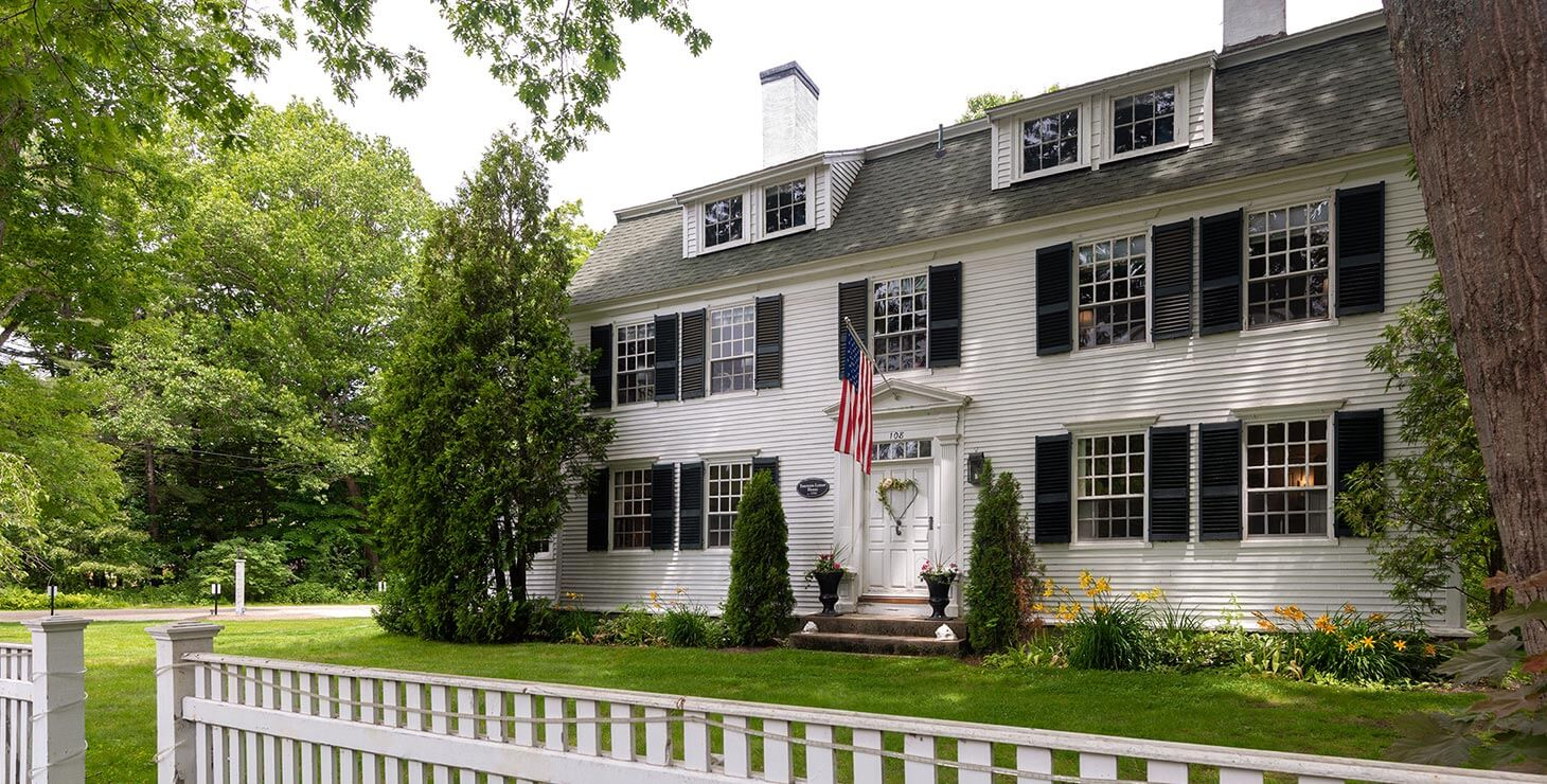 Our Kennebunkport B&B front view