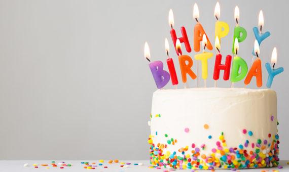 Happy Birthday Cake in Kennebunkport